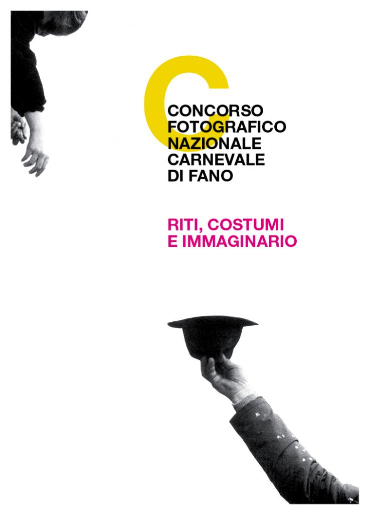 Cartolina concorso fotografico nazionale Carnevale di Fano