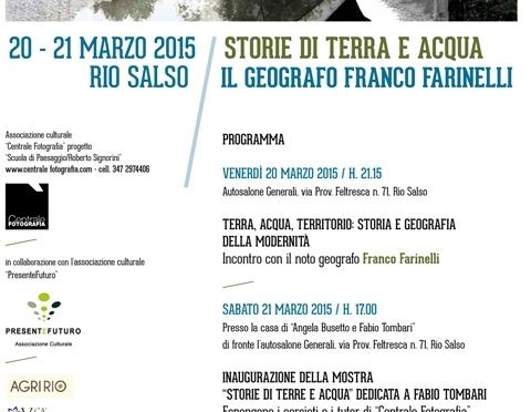 Franco Farinelli a Rio Salso w